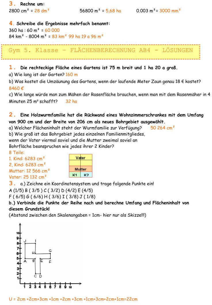 arbeitsblatt vorschule 187 fl228chenberechnung w252rfel