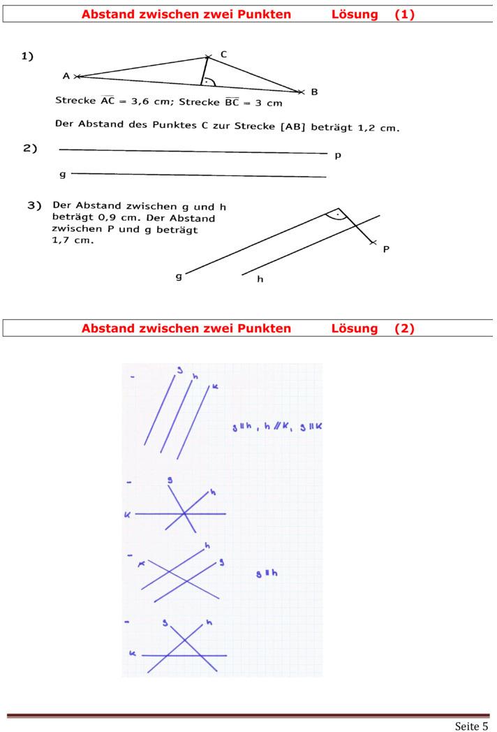 Geometrie In Klasse 5 Grundbegriffe Und Mathematik u00c3u00bcbungen Pictures to pin on Pinterest