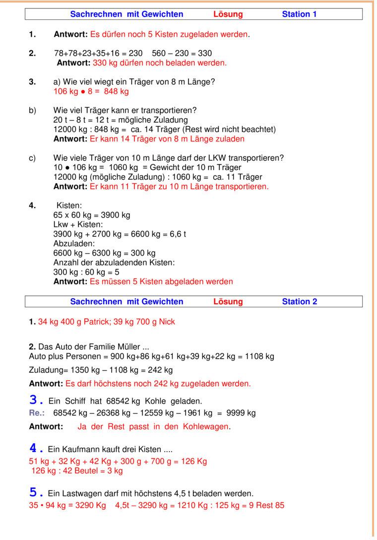 u00dcbungsblatt zu Textaufgaben und Zweisatz