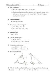 mathematik 7 klasse gesamtschule. Black Bedroom Furniture Sets. Home Design Ideas
