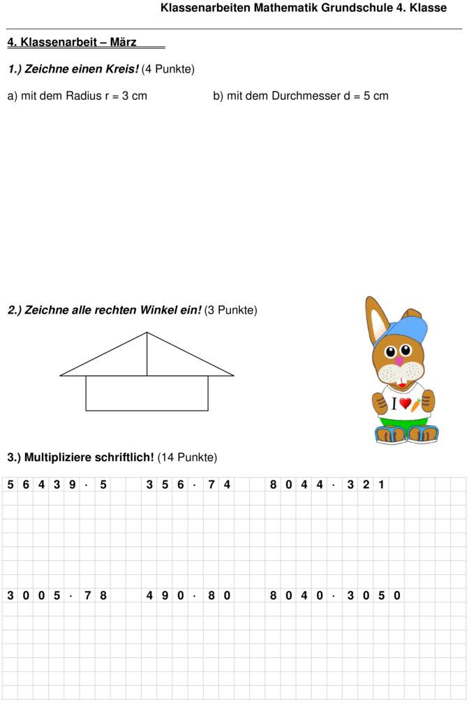 Mathespiele zum Kopfrechnen erste Klasse  Primarstufe