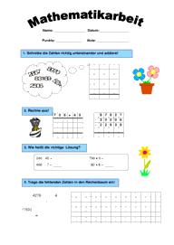 schriftliche rechenverfahren mathematik 4 klasse