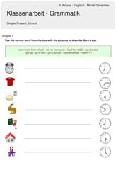 Arbeitsblätter und Materialien für Unterricht und Schulalltag