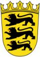 Coat of arms of Baden-Württemberg (lesser).svg